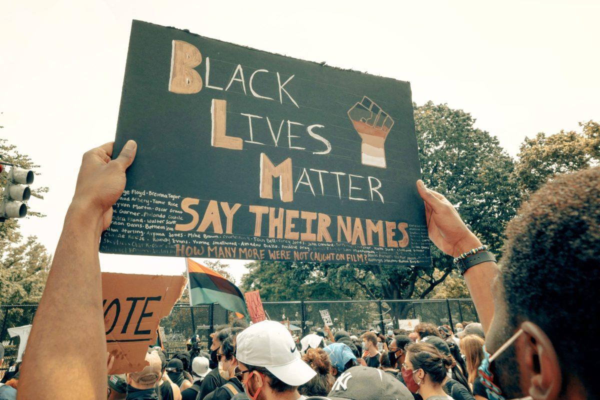 black lives matter protest 2020